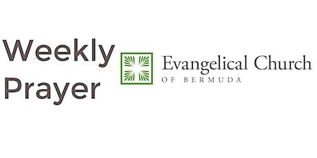 Evangelical Church of Bermuda - Weekly Prayer tickets