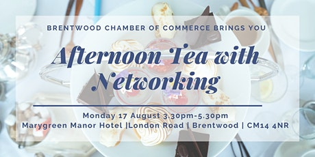 Afternoon Tea & Chamber Networking tickets