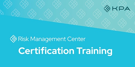RMC Certification Training *Virtual* tickets