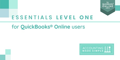 Essentials Level 1 for QuickBooks Online  Users(1 of 2) tickets