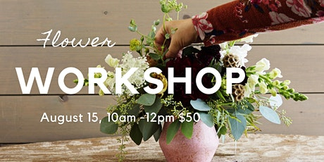Flower Workshop tickets