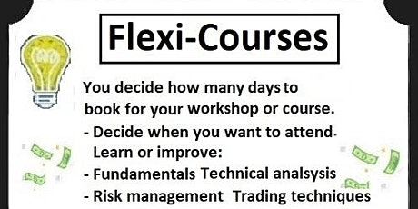 Financial, Commodity and Crypto  online (Flexi-Courses) tickets
