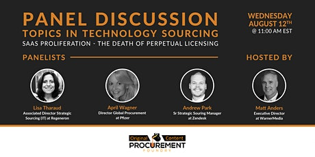 Topics in Technology Series - SaaS Proliferation tickets
