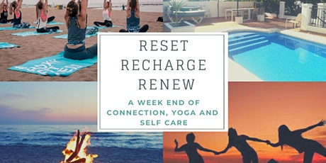 A three-days yoga retreat to Recharge, Renew and Reset entradas
