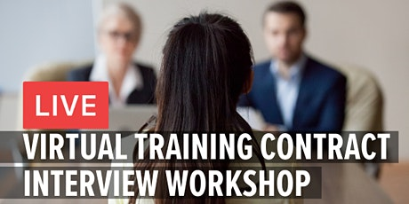 Virtual Training Contract Interview Workshop tickets