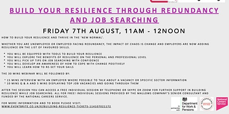 Building Resilience tickets