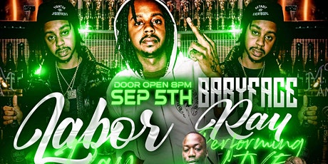 """""""Baby Face Ray"""" Labor Day Bash tickets"""
