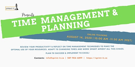 Time Management & Planning tickets