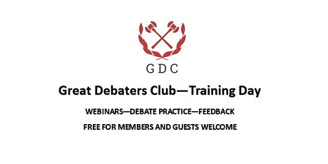 Great Debaters Club - training day tickets