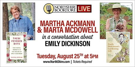 Northshire Live: Martha Ackmann and Marta McDowell Discuss Emily Dickinson tickets