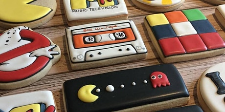 Back to 80's Cookie Decorating Class tickets