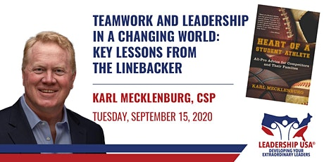 Teamwork & Leadership in a Changing World: Key Lessons from the Linebacker tickets