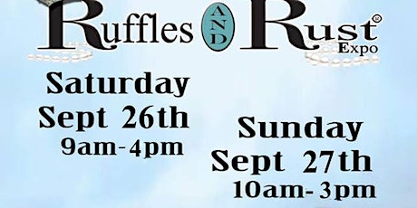 Ruffles and Rust Expo Hamilton tickets