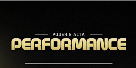 Curso Poder e Alta Performance ingressos