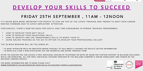 Develop your Skills to Succeed tickets