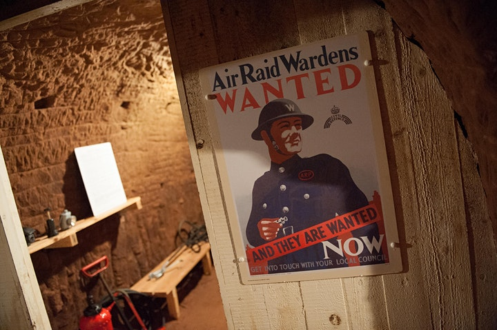 Visit to Stockport Air Raid Shelters - Admission Tickets image