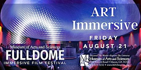 MAS Fulldome Fest - ART Immersive Showcase tickets