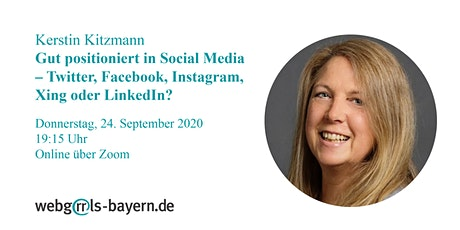 Kerstin Kitzmann: Gut positioniert in Social Media Tickets