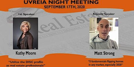 September 2020 Night Meeting tickets