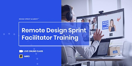 Remote Design Sprint  Facilitator Training (Interactive online class) tickets
