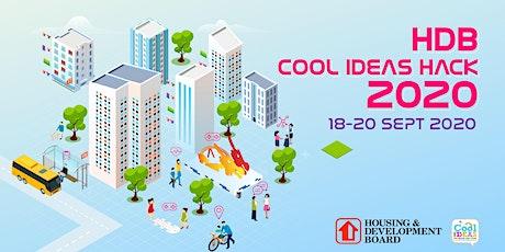 HDB Cool Ideas Hack 2020 Tickets