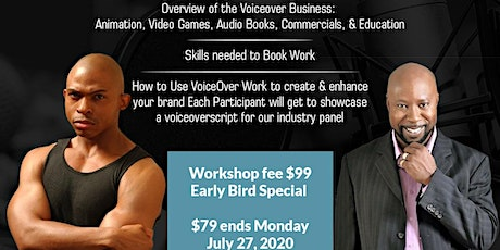 Voiceover Animation Workshop: Get Into The Voiceover Industry tickets