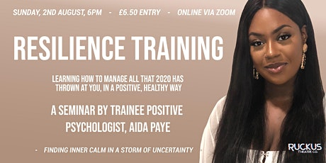 Resilience Training with Aida Paye tickets