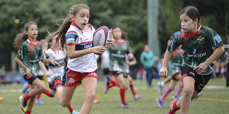 "Rugby ""Give it a Try for Girls"" 10am-1pm (4 August tickets"