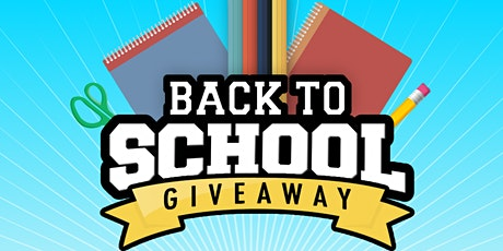 2020 Drive-Through School Supply Giveaway tickets