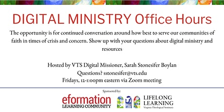 Digital Ministry Open Office Hours tickets
