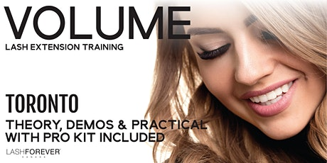 Volume Lash Extensions Course tickets