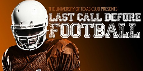 LAST CALL BEFORE FOOTBALL 2020 tickets