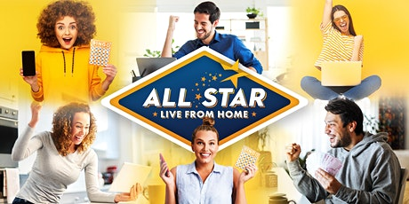All Star Live BINGO from Home tickets