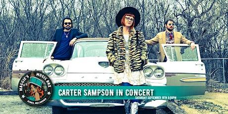 Carter Sampson in Concert tickets