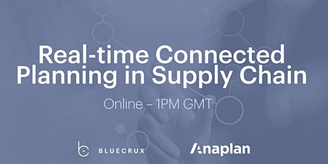 Real-time Connected Planning in Supply Chain tickets