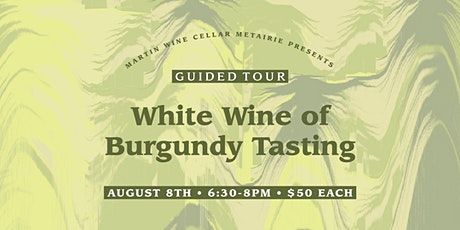 Guided Tour: White Wine of Burgundy Tasting tickets