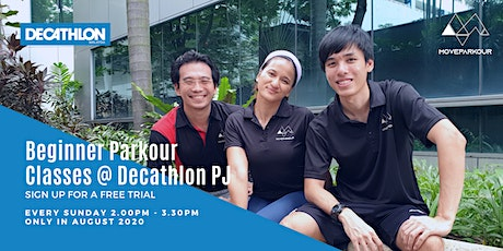 Beginner Parkour Class @ Decathlon PJ (Free Trial) tickets