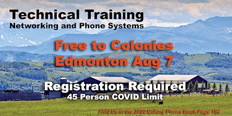 Hutterite VoIP Technical Training EDMONTON - Free tickets
