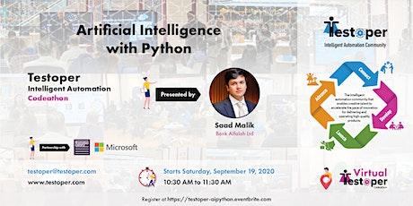 Artificial Intelligence with Python - Testoper IA Codeathon