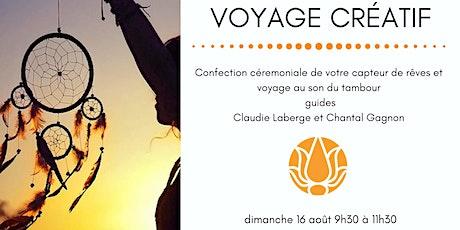 VOYAGE CRÉATIF tickets