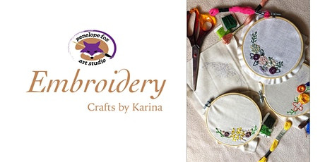 Embroidery 101 tickets