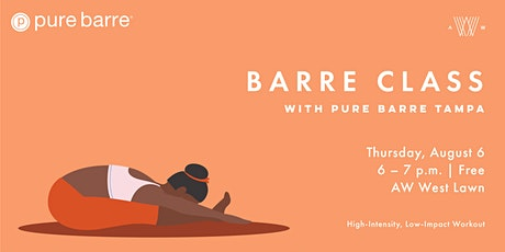Barre Class with Pure Barre Tampa tickets