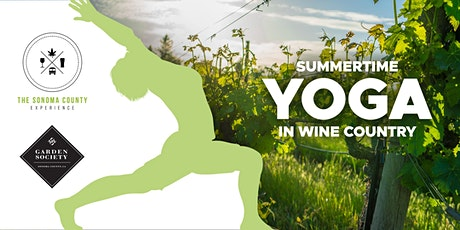Wine Country Yoga: Summertime Series, hosted by BR Cohn tickets
