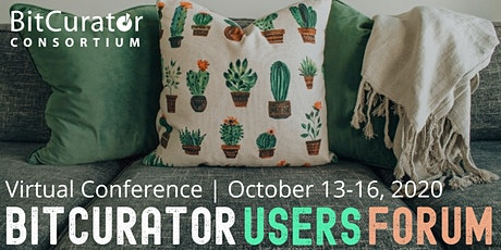 Bitcurator Users Forum 2020 tickets