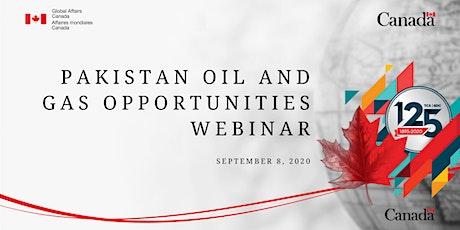 Pakistan Oil and Gas Opportunities Webinar tickets
