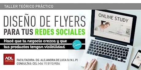 Copia de Taller de diseño de flyers para redes sociales entradas