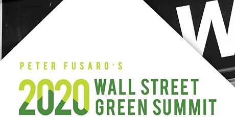 2020 Wall Street Green Virtual Summit tickets