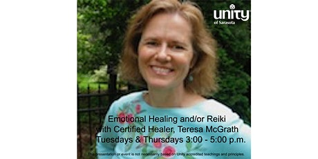 One-on-One Healing Sessions with Teresa McGrath, Certified Healer tickets