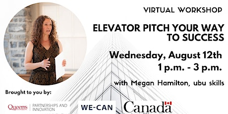 Elevator Pitch Your Way to Success tickets