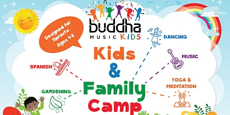 Buddha Music Group presents....Kids and Family Summer Camp - ONLINE tickets